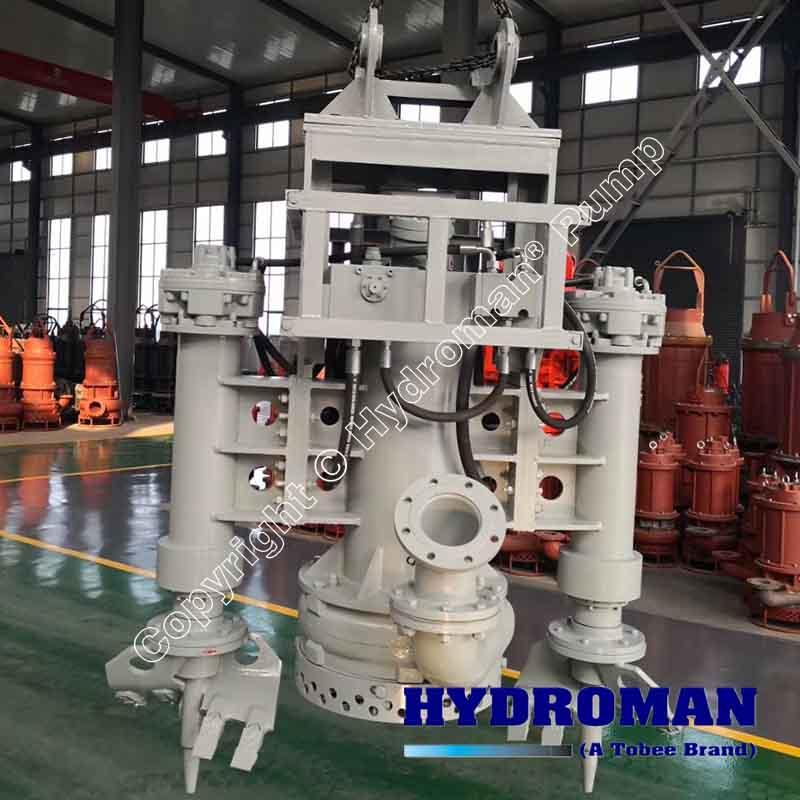 High Pressure Hydraulic Slurry Pump