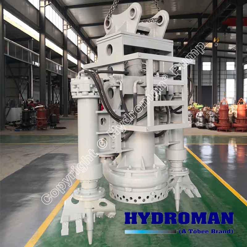 Long Distance Hydraulic Slurry Pump