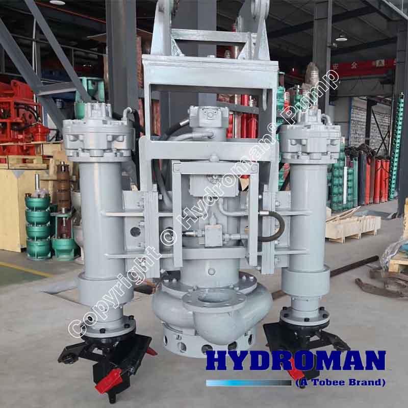 Dragflow Hydraulic Submersible Slurry Pump