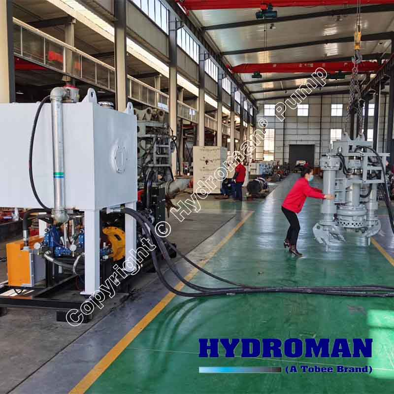 Hydraulic Submersible Pumps with Diesel Power Pack