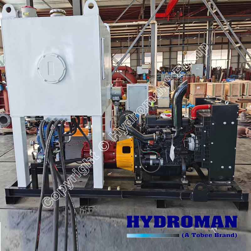 Hydraulic Submersible Pump Driven with Hydraulic Power Pack