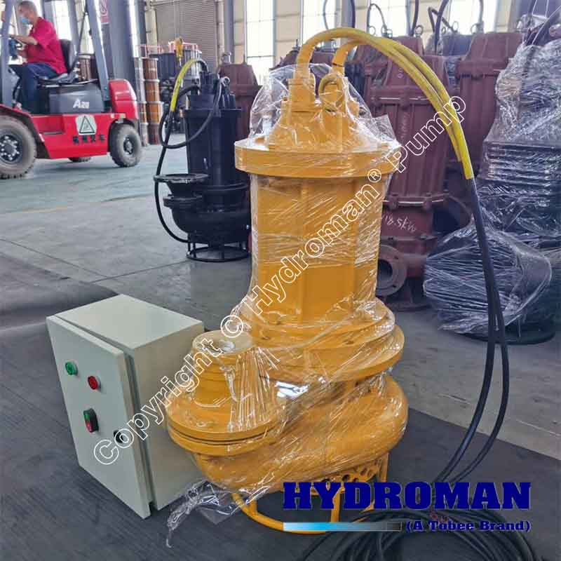 Submersible Dredge Pumps with Control Box