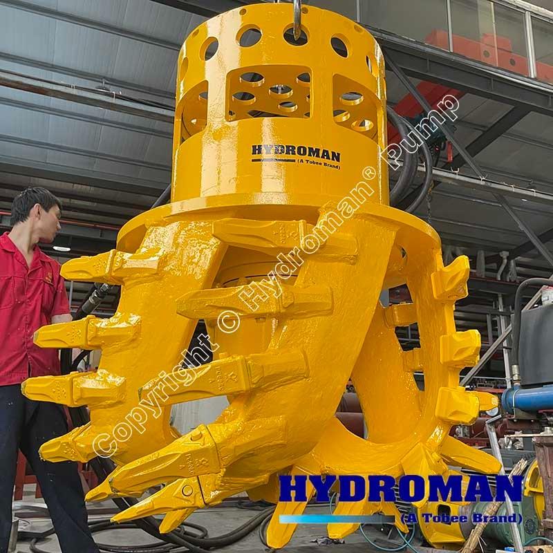 Dragflow Hydraulic Cutterhead