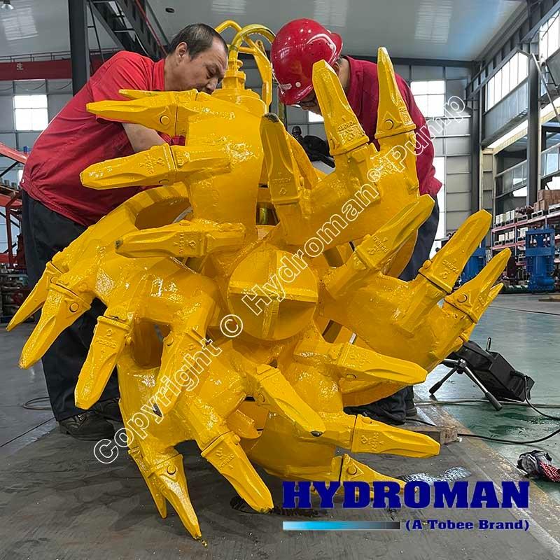 Cutterhead for Draflow Pumps