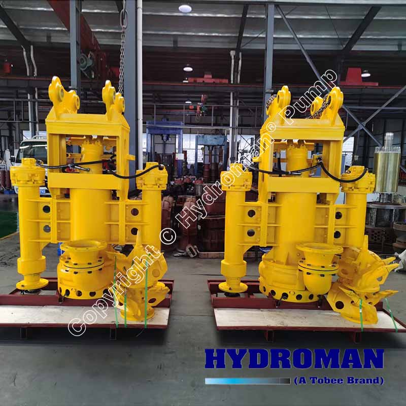 Hydraulic Submersible Dredge Pumps with Side Agitators