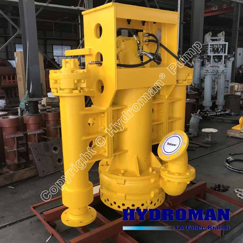 Hydraulic Dredge Pumps with Side Agitators
