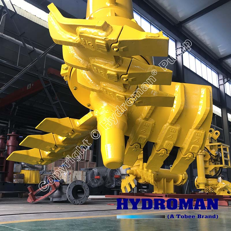 Hydraulic Side Cutters for Dredge Pumps