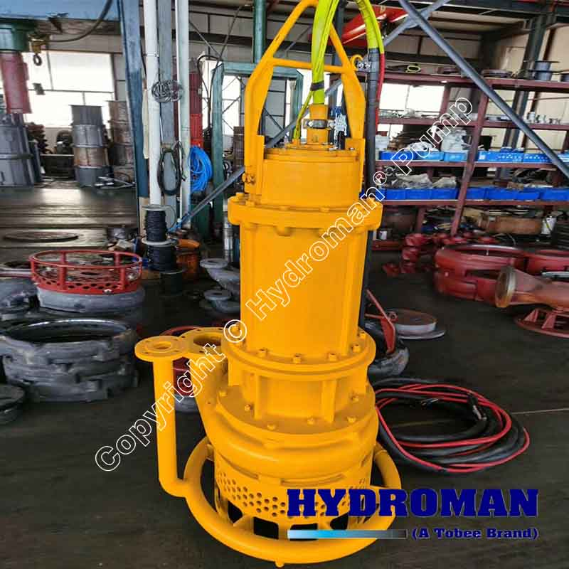 Submersible Dredge Pump with water jet rings