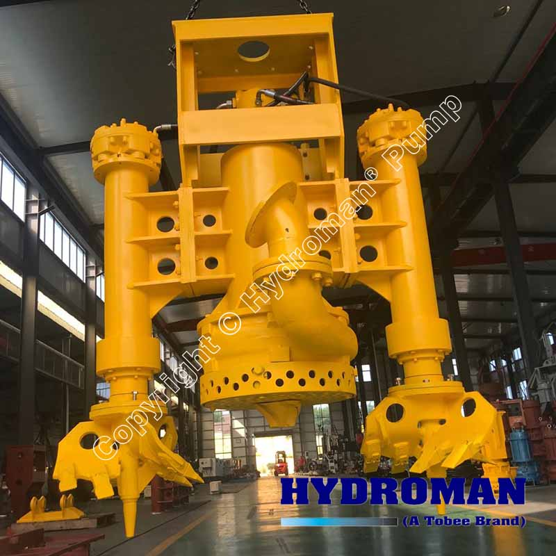 Submersible Dredge Pumps with cutter heads
