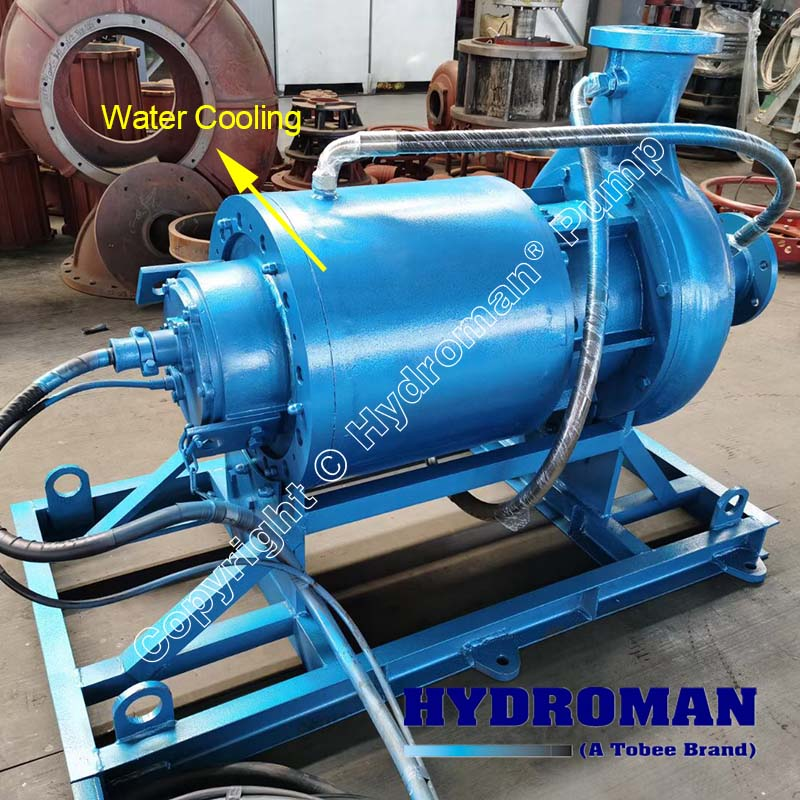 Submersible Slurry Pumps Dry installation