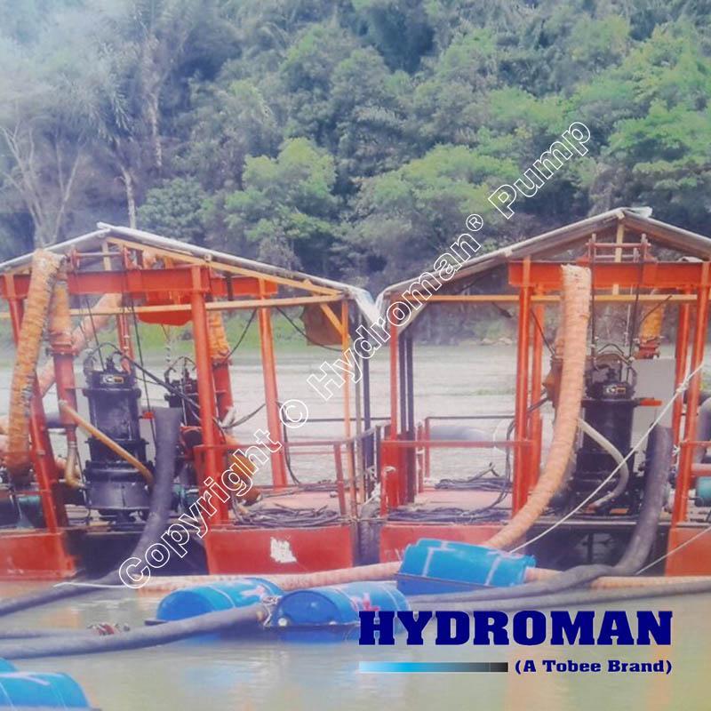 Submersible Slurry Pumps for dredger