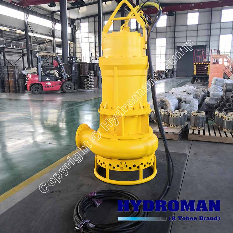 Electric Submersible Agitator Sand Pump