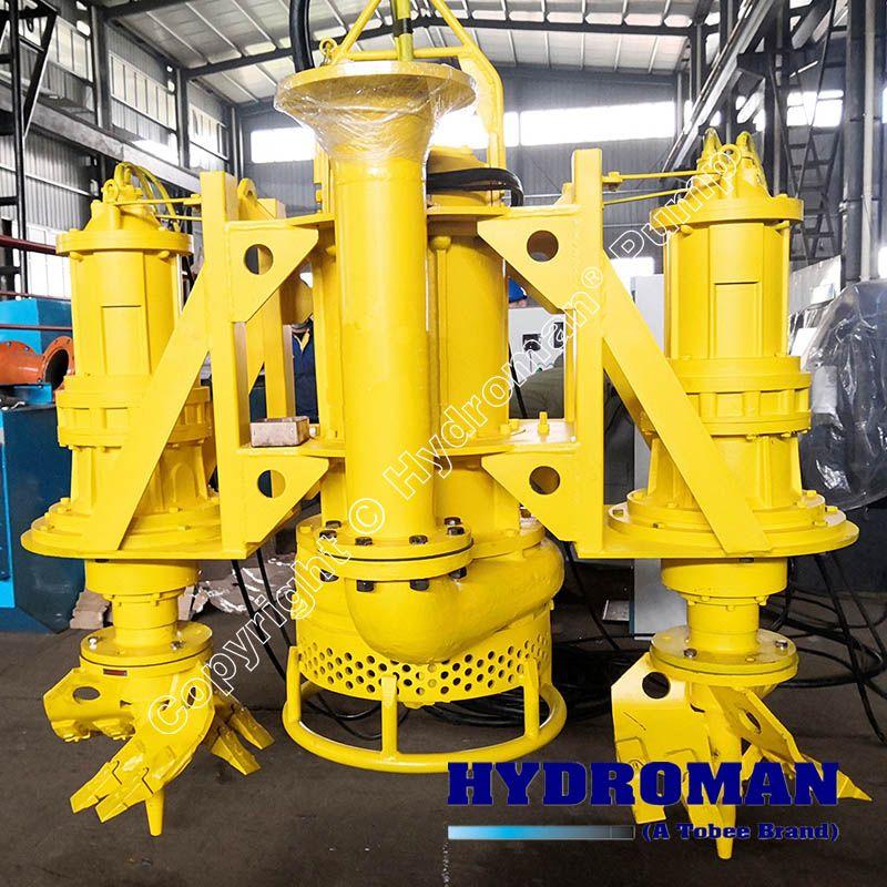 Electric Submersible Slurry Pumps with Agitators