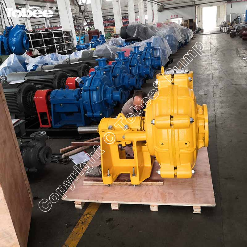 Slurry Pump in Yellow