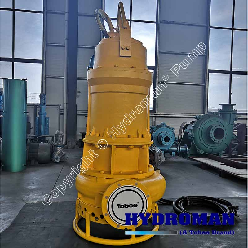 submersible agitator sand pumps