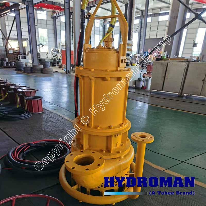 Submersible Slurry Pump with Water jet ring