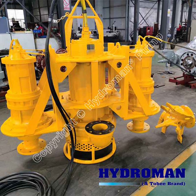 Submersible Pumps with Head Cutters