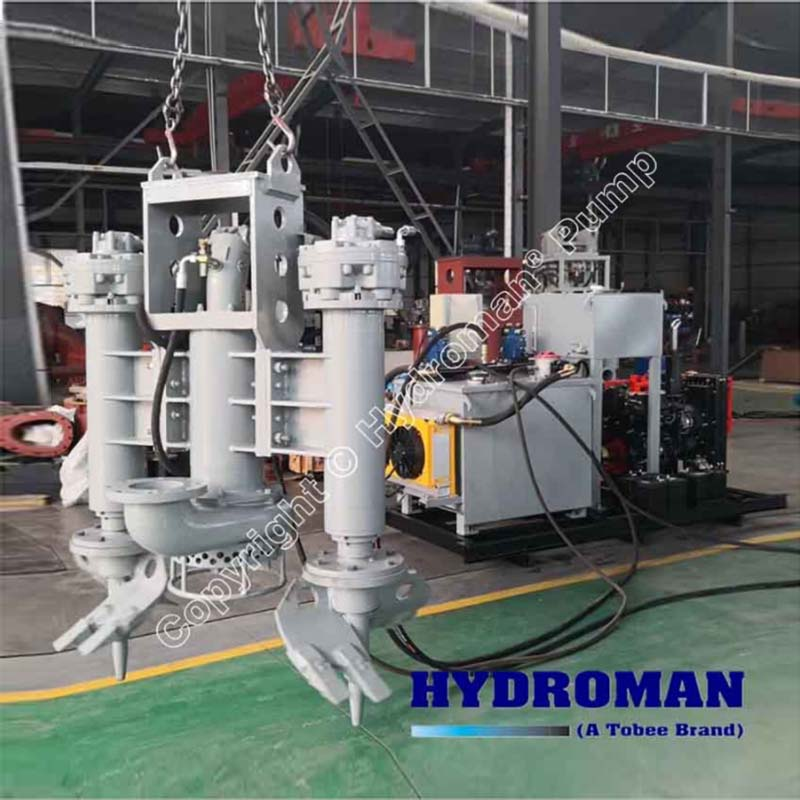 Hydraulic Dredge Pump with Power Pack