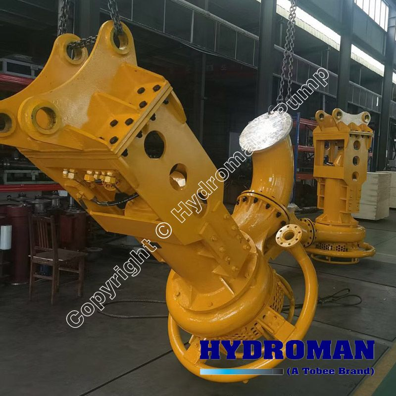 Hydraulic Submersible Slurry Pump with Water jet ring