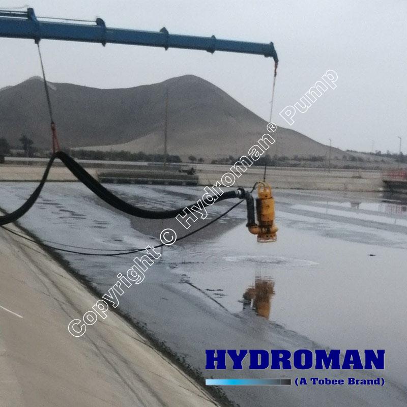 submersible sludge dewatering pump