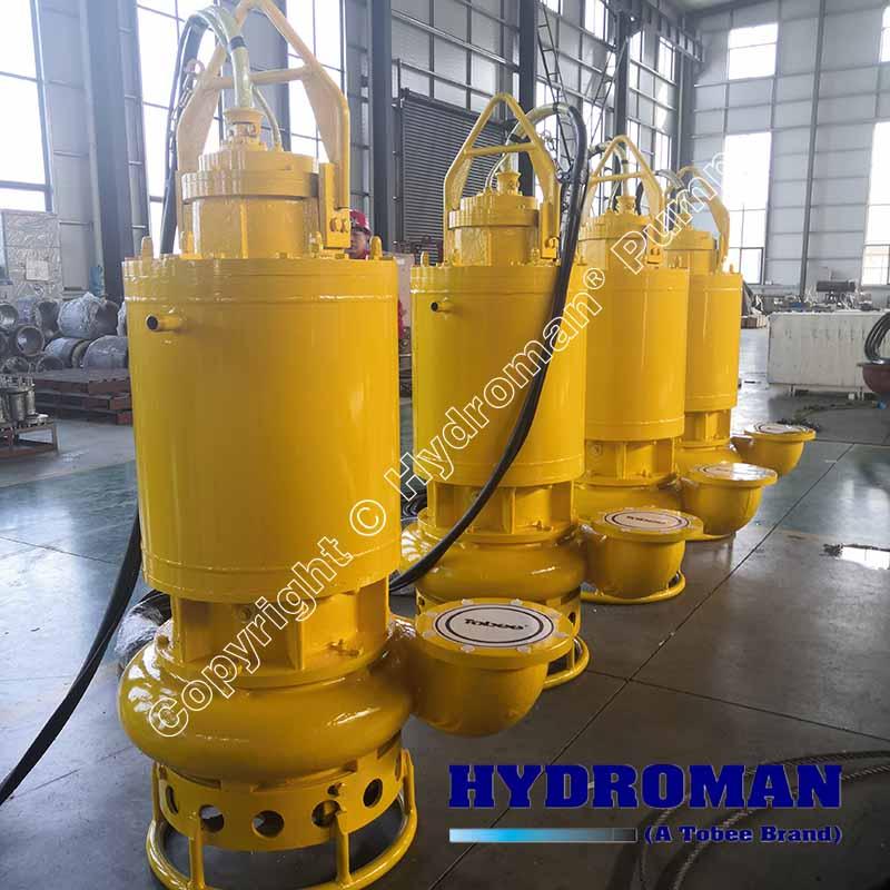 Electric submersible sludge pump