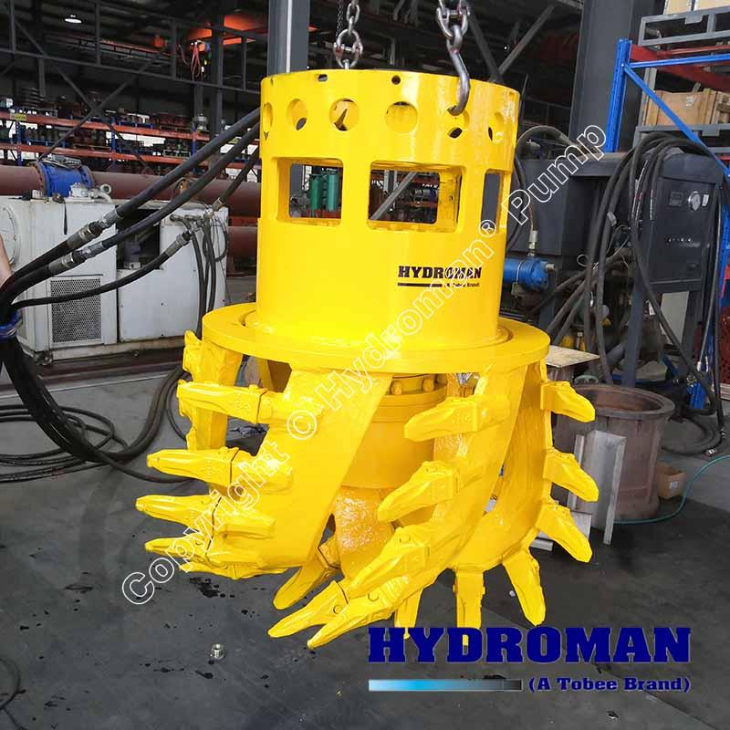 Hydraulic CutterHead of Dragflow Dredge Pump