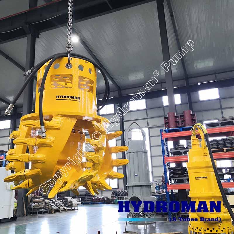 Submersible Hydraulic Slurry Pump Head Cutter