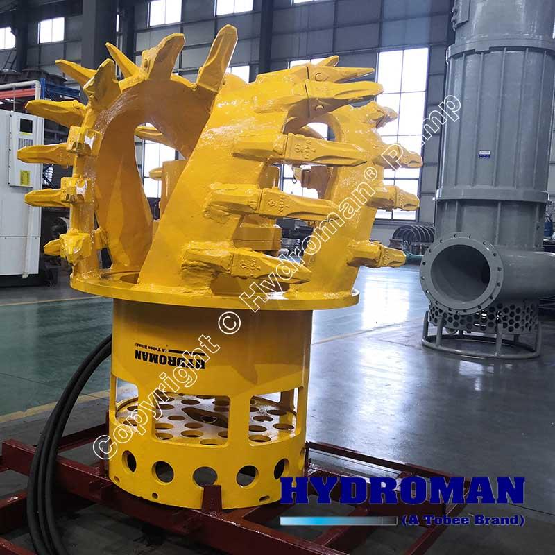 Hydraulic Slurry Pump with CutterHead