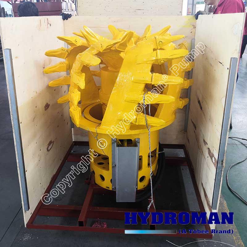 Dragflow Head Cutter for Hydraulic Slurry Pump