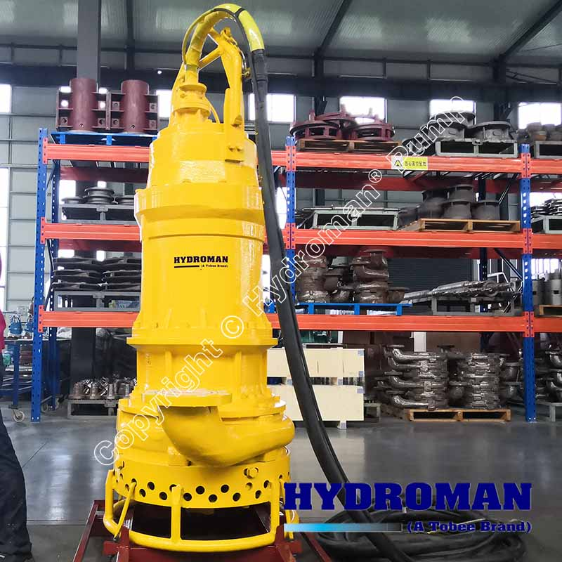 55KW Submersible Sand Pump