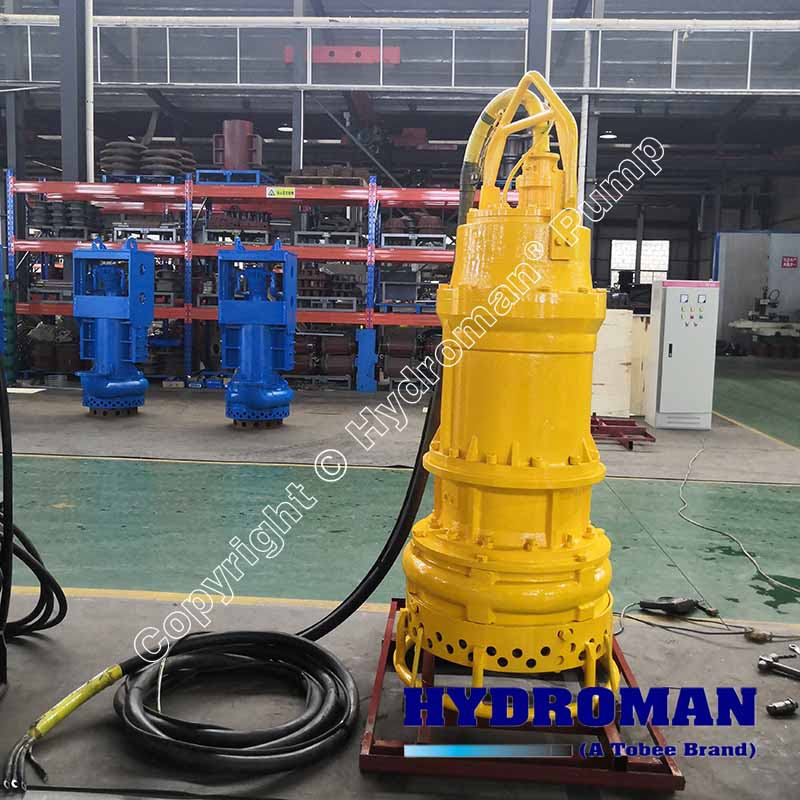 Submersible Sand Pump with Control Panel