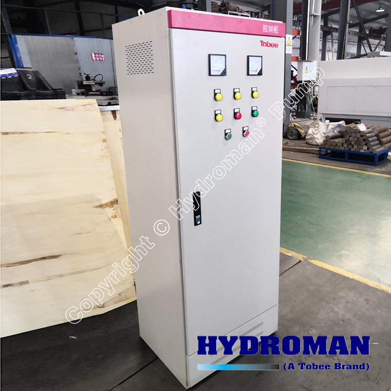 75KW Control Panel with Soft Starter