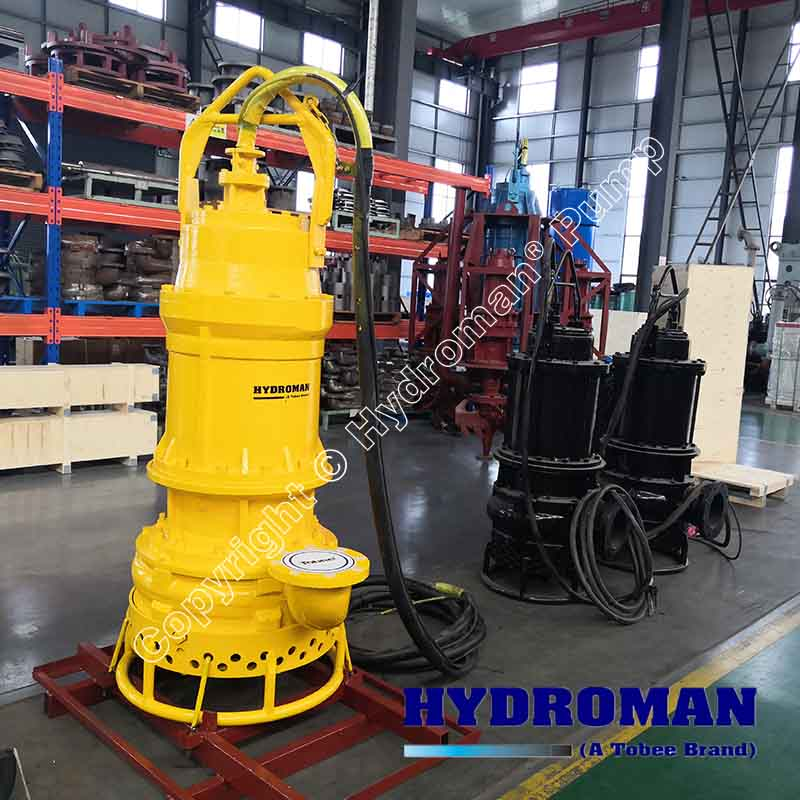 Electric Submersible Sand Pump with Agitator