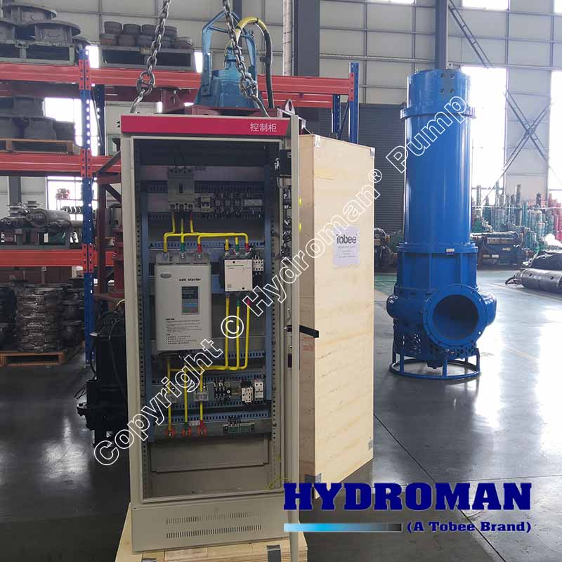 Soft Staster Control Panel for Submersible Slurry Pump