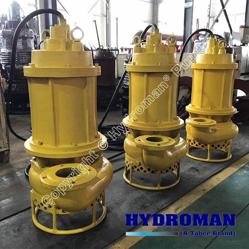 Hydroman™ Submersible Slurry Pumps