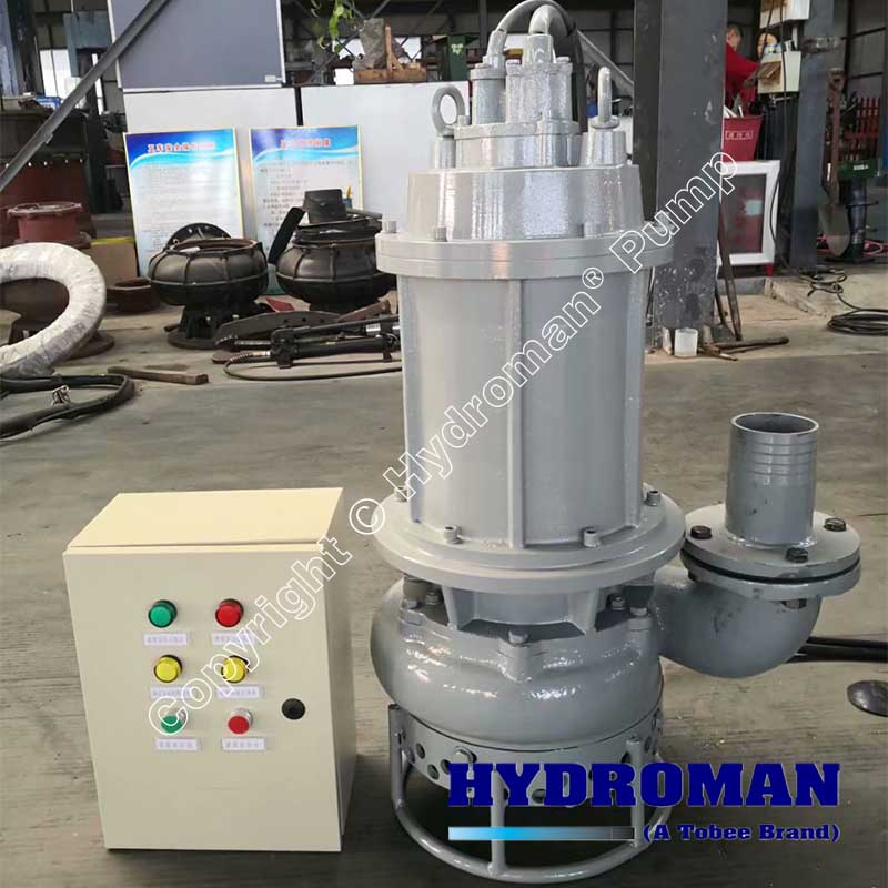 Submersible Slurry Pump with Control Box