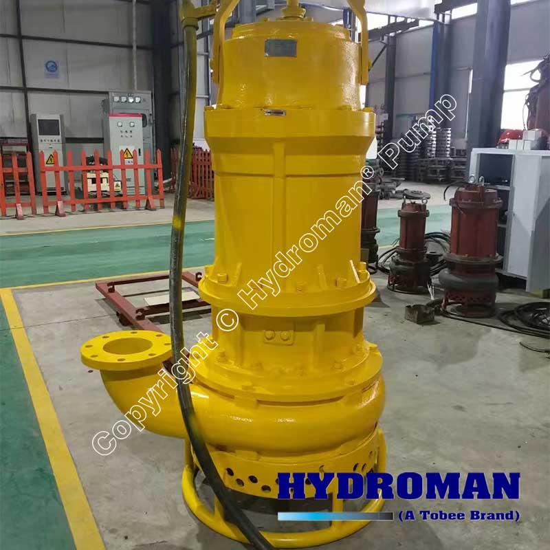 Heavy Duty Agitator Slurry Pump