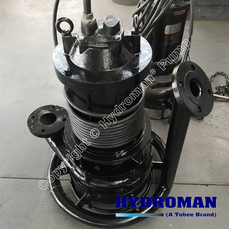 Submersible Slurry Pump with Jet Ring