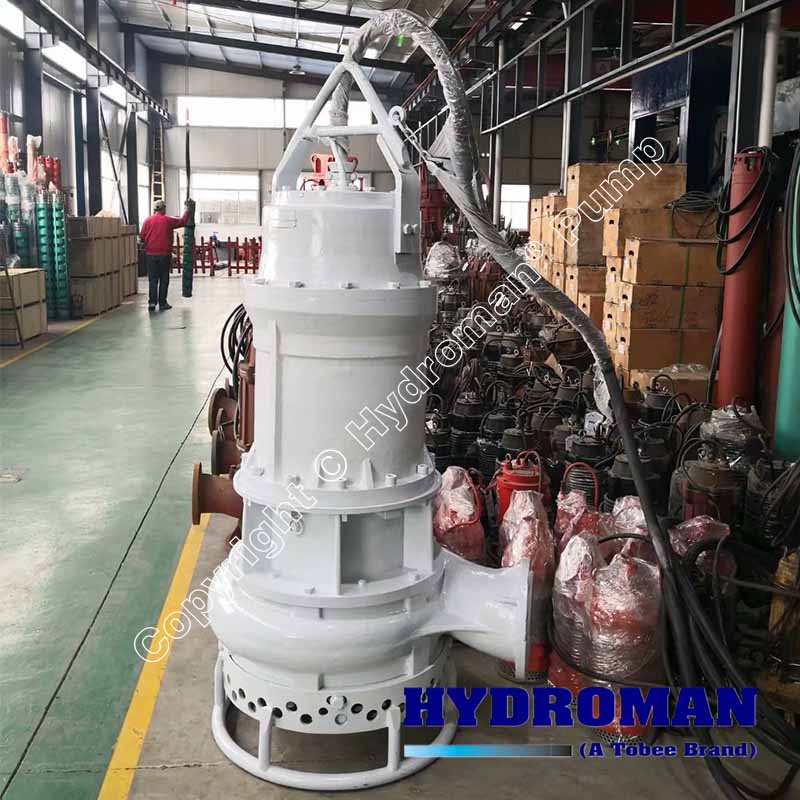 High Solids Submersible Slurry Pump