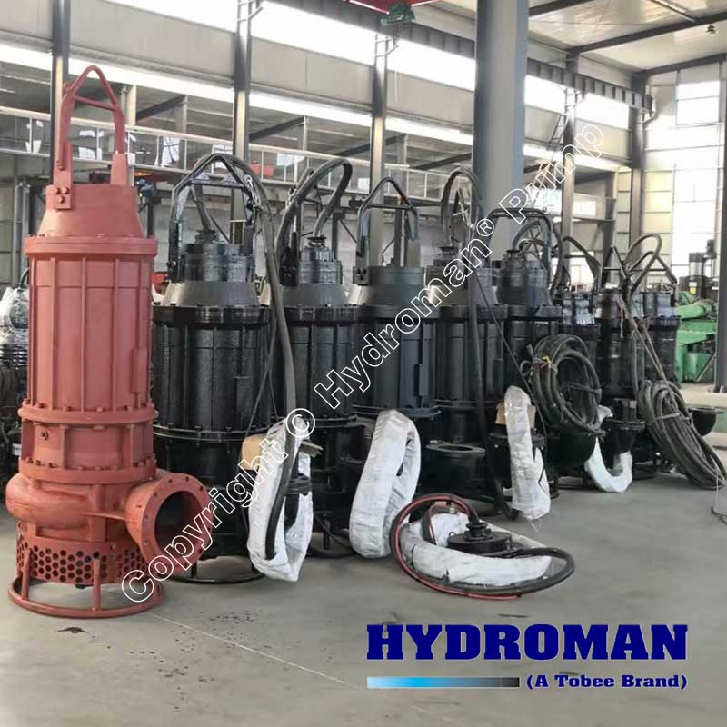 Electrically Driven Submersible Slurry Pump