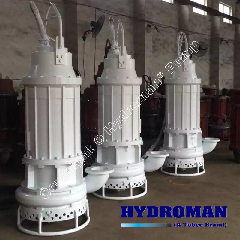 Dragflow Submersible Dredge Pumps