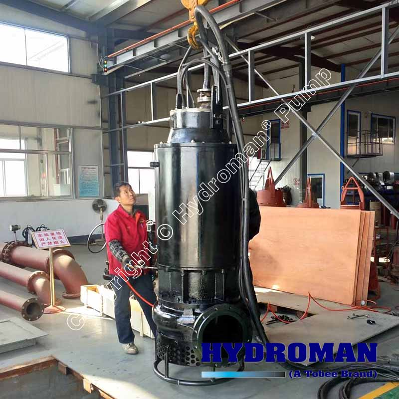 High Chrome Submersible Slurry Pump