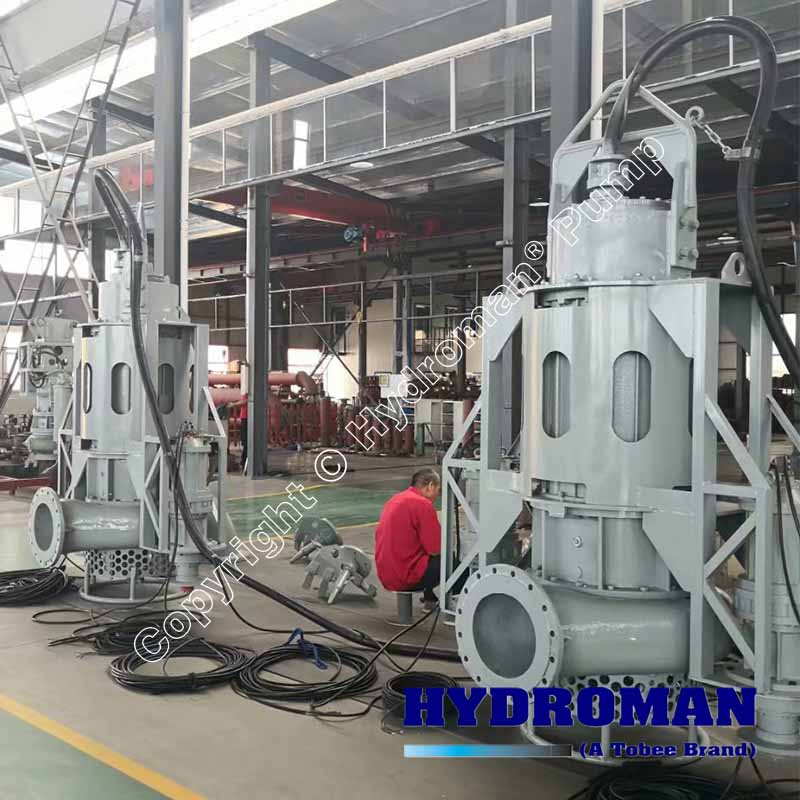 Submersible Slurry Pump with Excavators