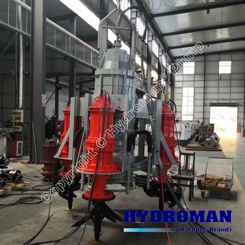 Dragflow Heavy Duty Electric Dredge Pumps