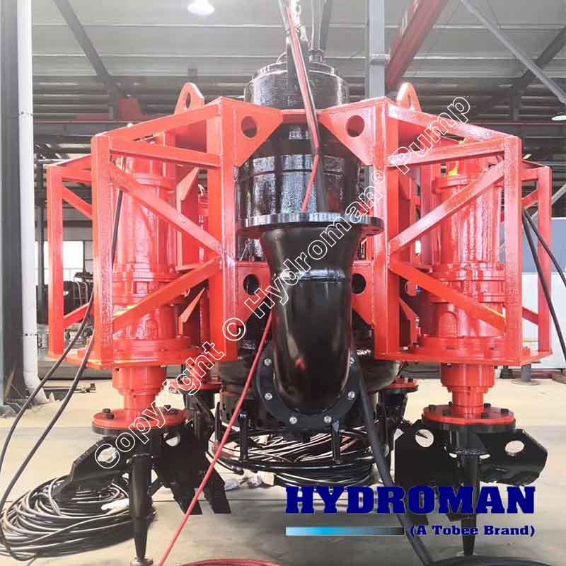 High Abrasion Resistant Submersible Slurry Pump