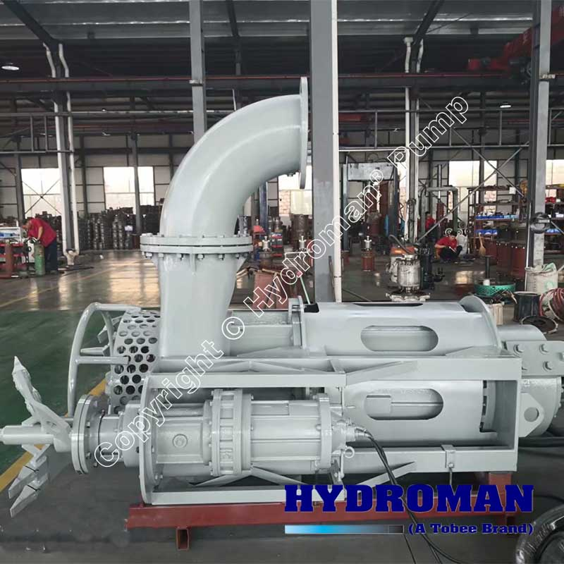 Heavy Duty Submersible Agitator Dredge Pump
