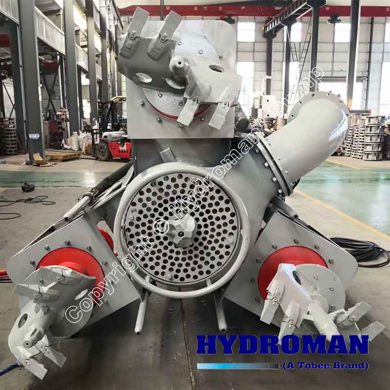 Dragflow Submersible Dredge Pump