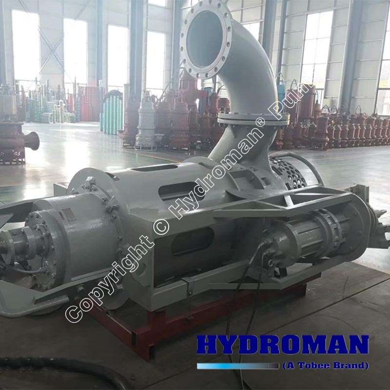 Electric Submersible Slurry Pump with Side Excavators