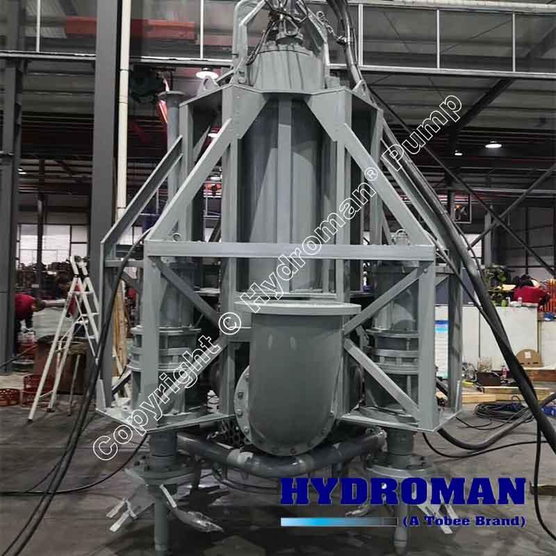 Submersible Dredge Pump with Agitator