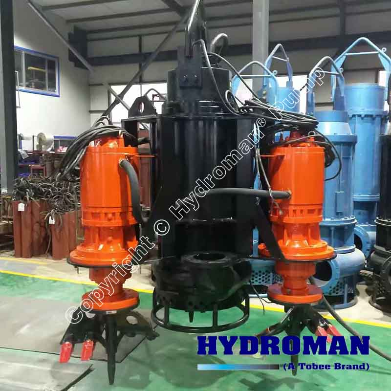 China Submersible Slurry Pump with Agitator